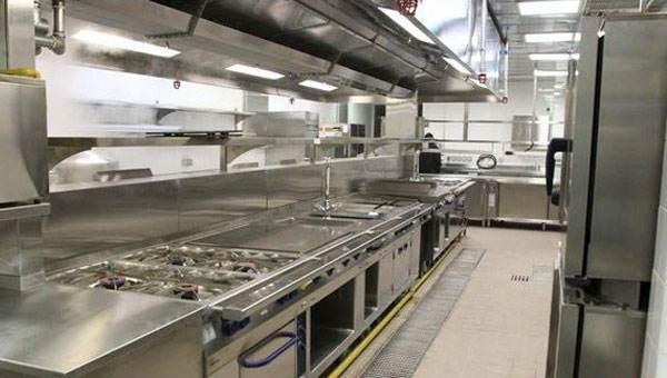 餐饮厨房设计标准及注意事项