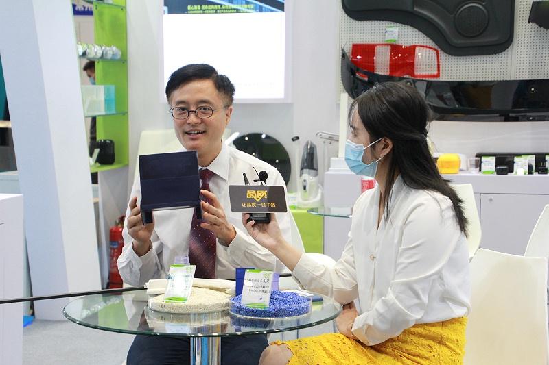 王总接受中央电视台《品质》栏目组采访