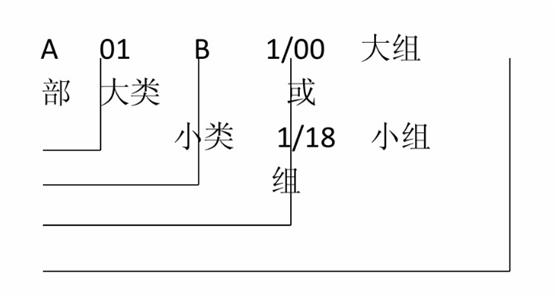 专利分类号含义
