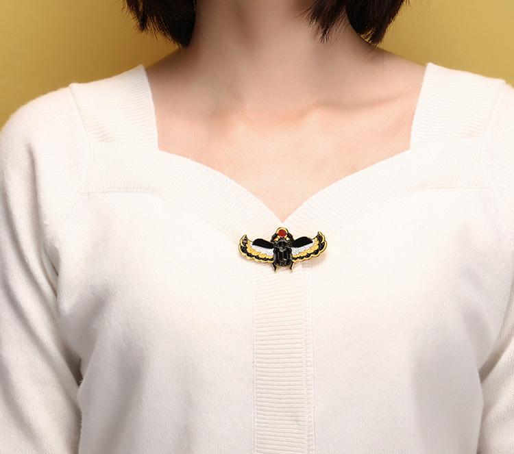 博物馆官方埃及系列徽章夜光创意金属徽章佩带