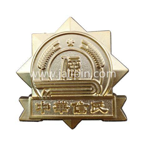 锌合金压铸徽章