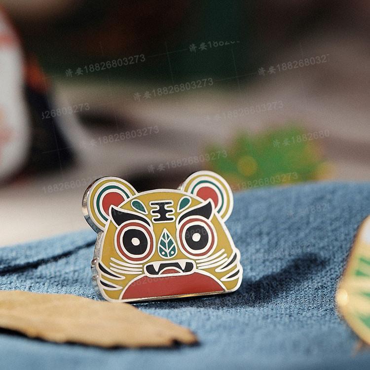 端午节老虎徽章