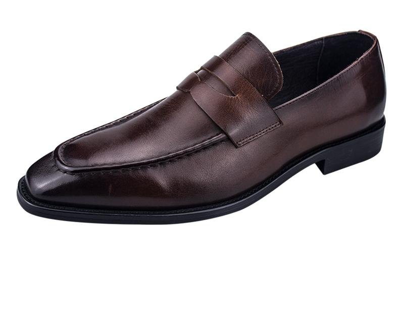 杰华仕皮鞋OEM贴牌商务鞋G60512款