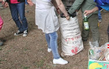 环蠡湖捡垃圾拓展活动