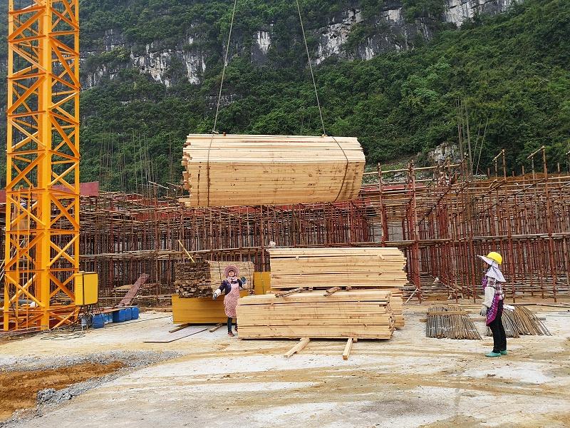 工地建筑木方