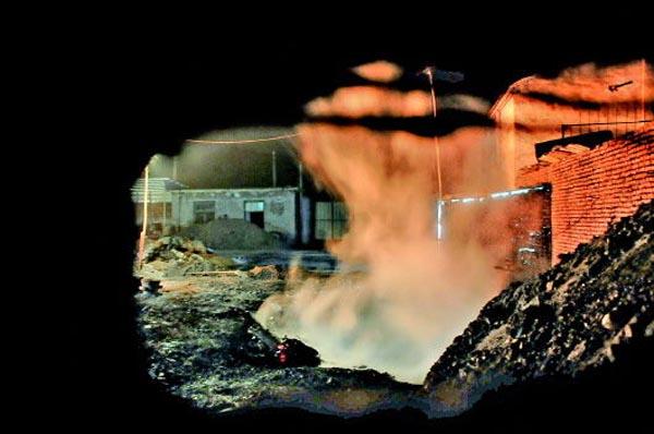 惠州铝制品厂-土法炼铝1