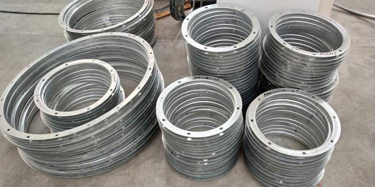 管道配件连接法兰 镀锌钢带法兰