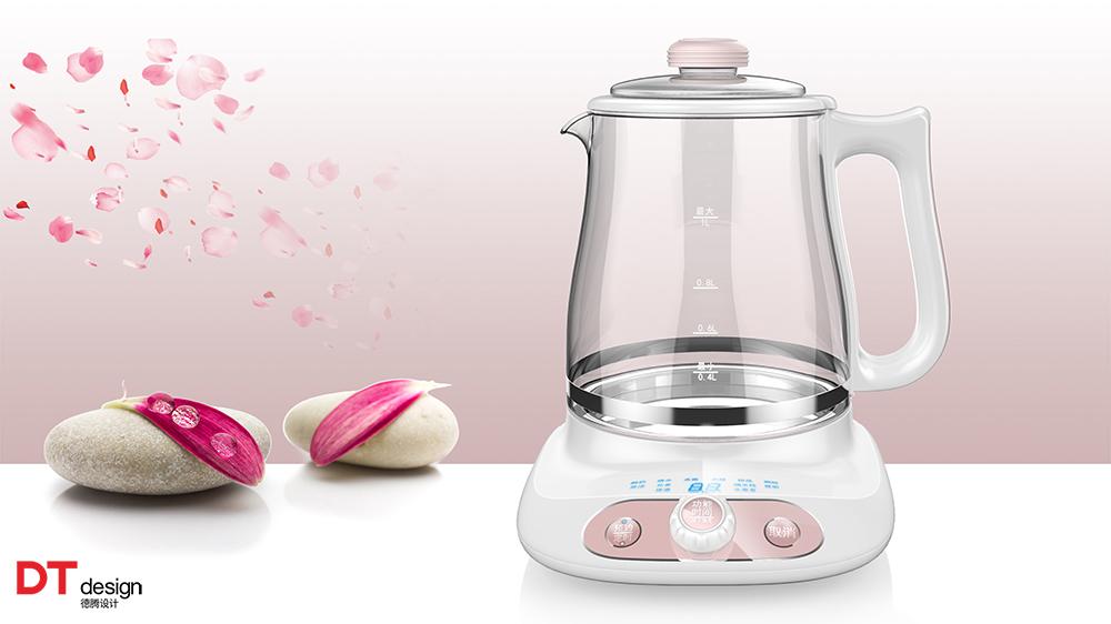 产品列表 家电产品 > 养生壶经典案例欣赏篇,德腾工业设计