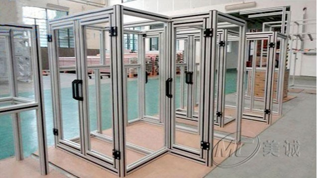 铝型材设备防护框架