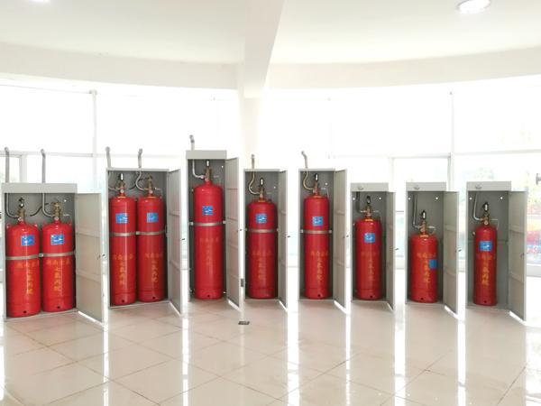 柜式七氟丙烷灭火装置工作原理和适用范围
