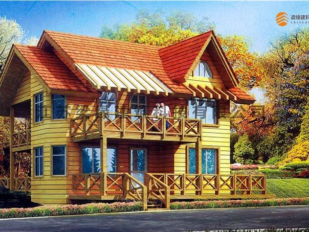 在宁静悠闲的乡村里,居住在带有大自然味道的木屋别墅中,将所有的疲惫
