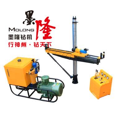 山西晋兴能源斜沟煤矿领导说使用效果非常好 墨隆架柱钻机