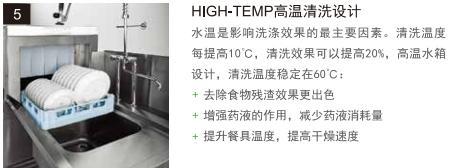 食堂洗碗机高温清洗设计