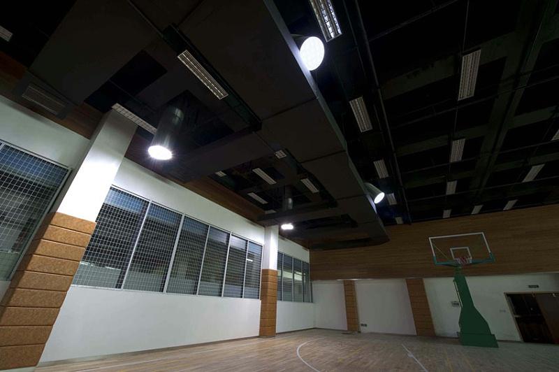 杭州江南文苑地下篮球场