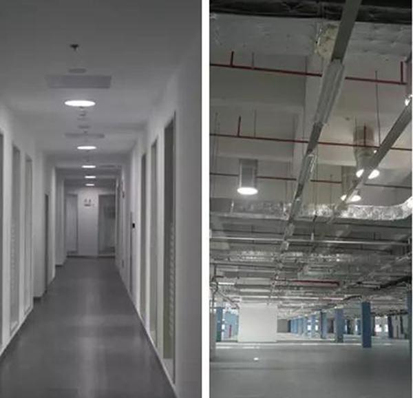 无电照明系统应用于西门子工厂