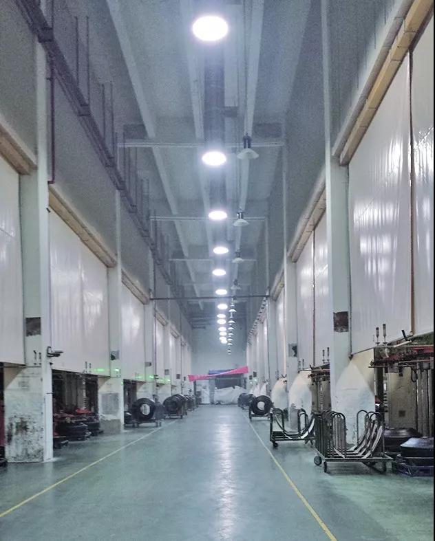 索乐图导光管橡胶厂应用案例