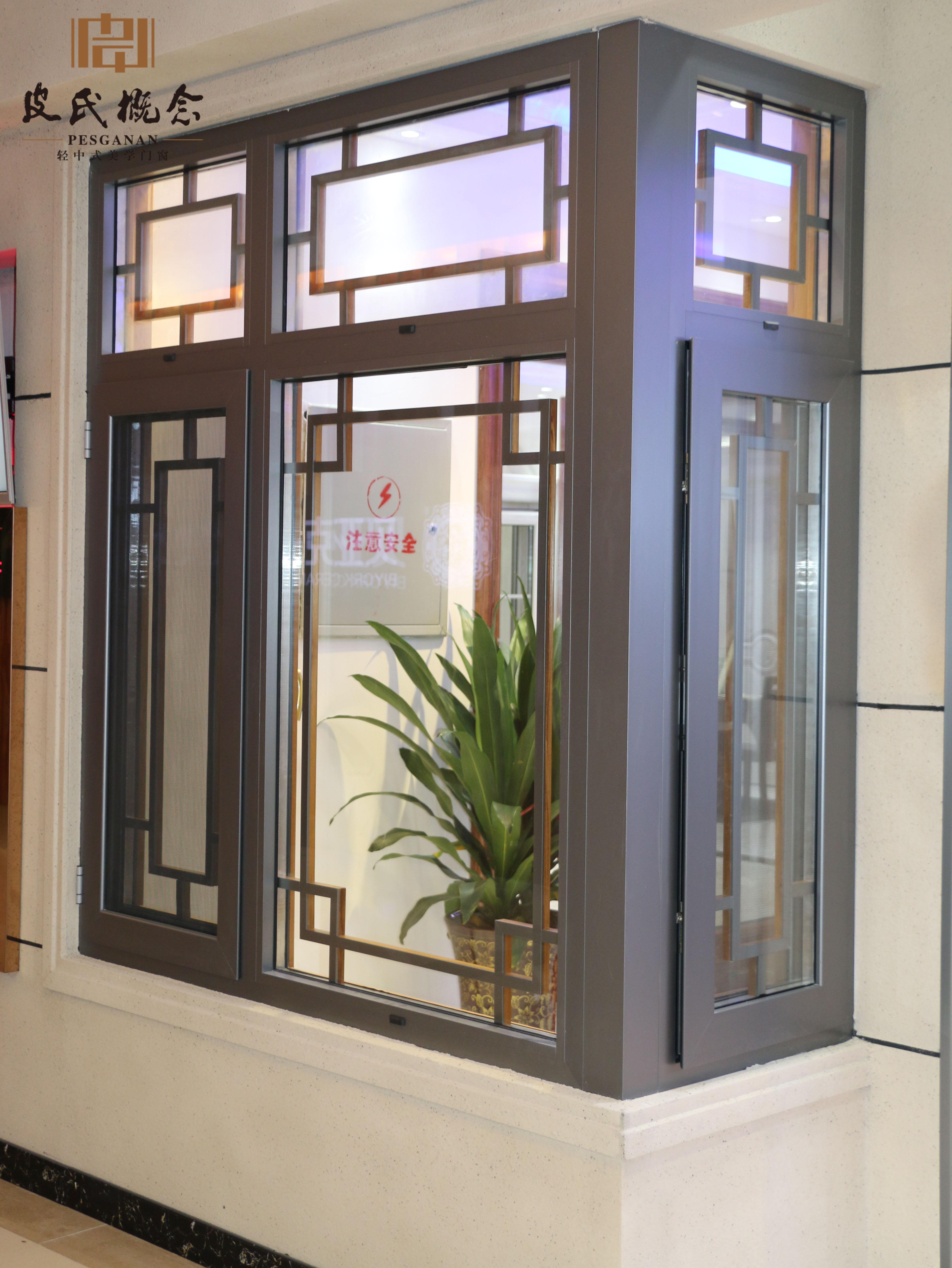 飘窗设计 铝合金门窗 装饰条门窗设计