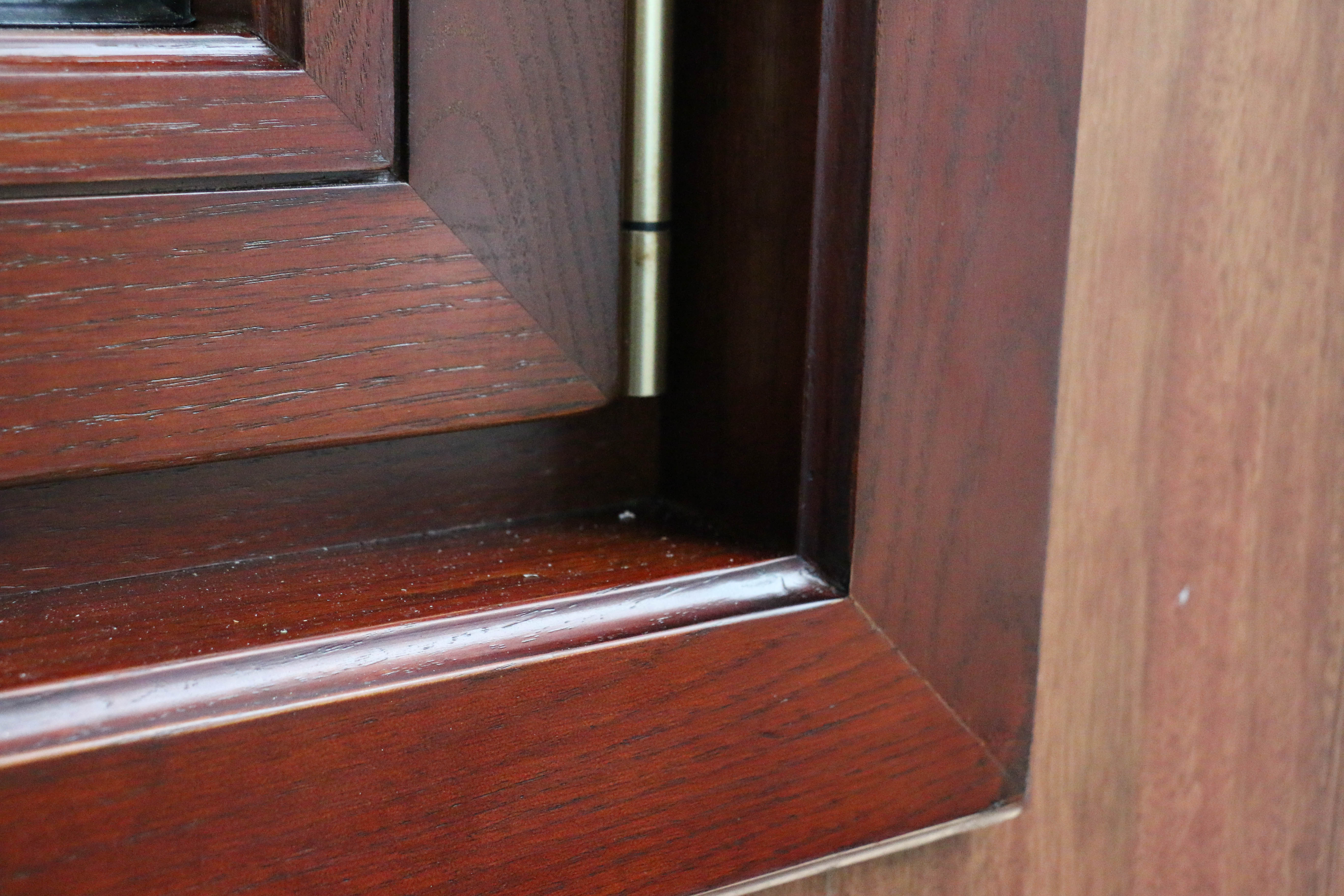 铝包木窗细节