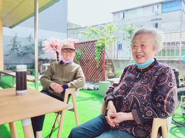 成都養老院一暄康養華陽院姚奶奶和馮爺爺
