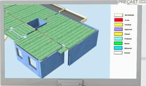 上海首栋装配式建筑BIM应用-planbar数据输出