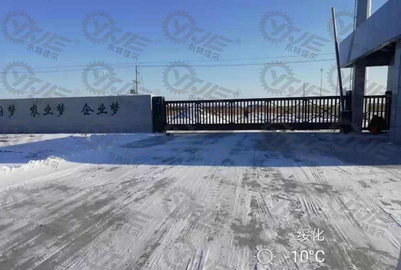 黑龙江绥化悬浮门安装案例,悬浮门安装效果展示,沈阳永特佳尔