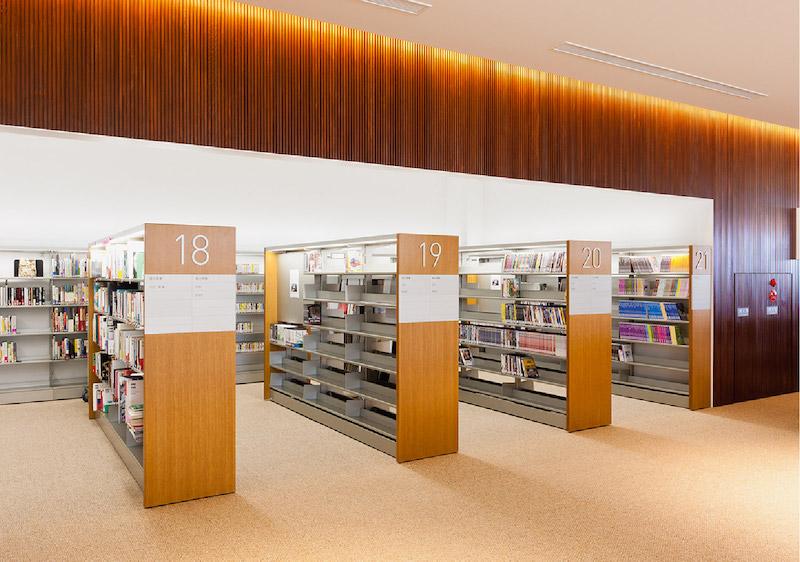 日本白河市立图书馆标识系统设计7