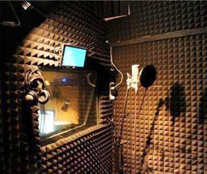 用于录音房:吸音率高,隔音性好