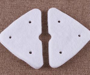 环保针刺毡应用于玻璃清洁棉