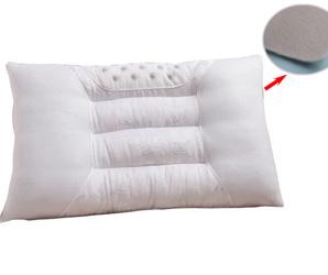 枕头剖面图