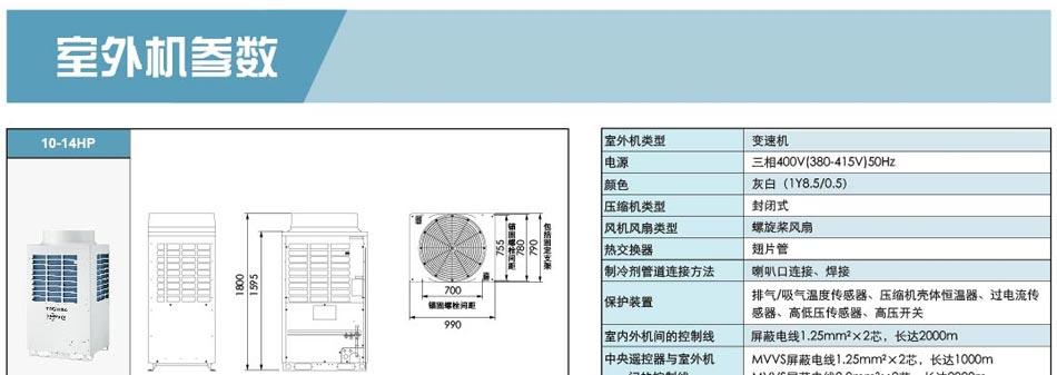 写字楼办公室东芝变频中央空调4