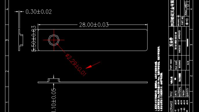 冲压厂是如何进行精密冲压件孔径测量的?【锐硕五金】