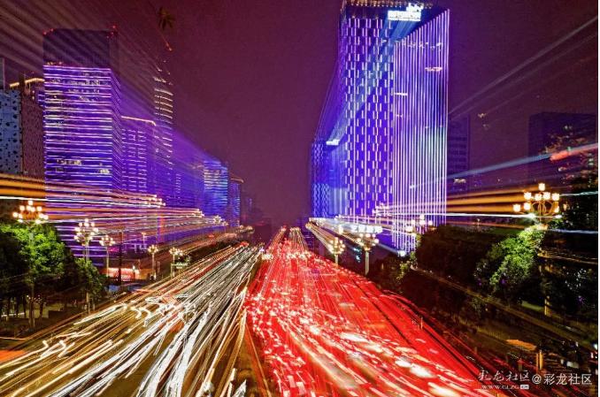一条城市高速发展之路