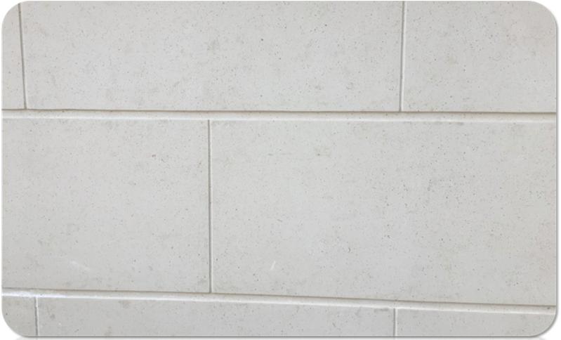 外墙仿石灰石涂料系统 · 典型应用 - 石灰石/同色刀切缝