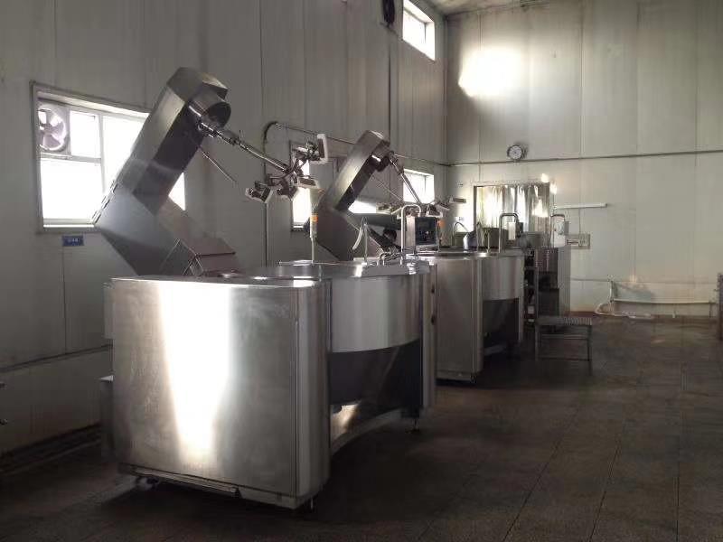智能電磁加熱炒菜機器人