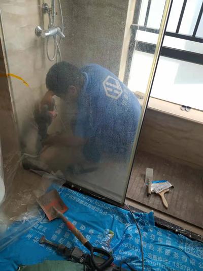 厕所防水补漏