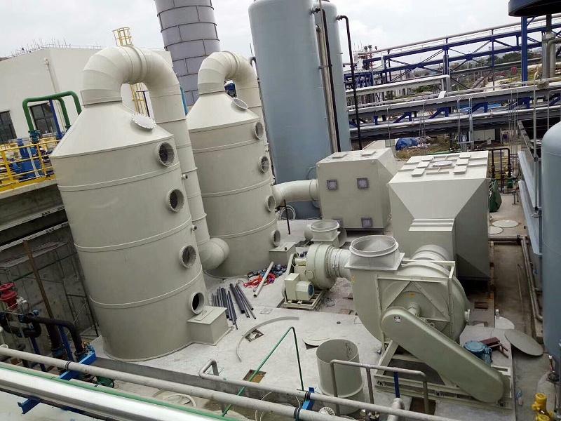 创新废气处理技术加速转型