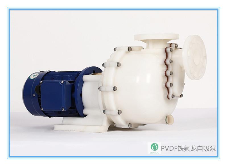 全氟塑料PVDF材质自吸泵