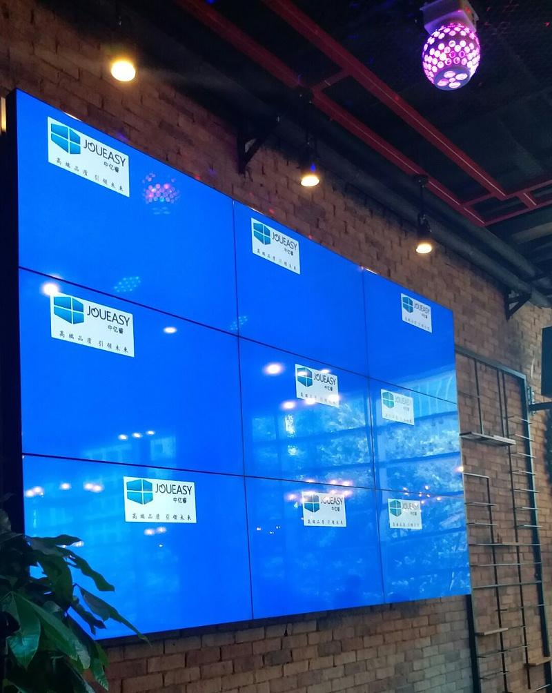贵州白鹭小酒馆55寸液晶拼接墙