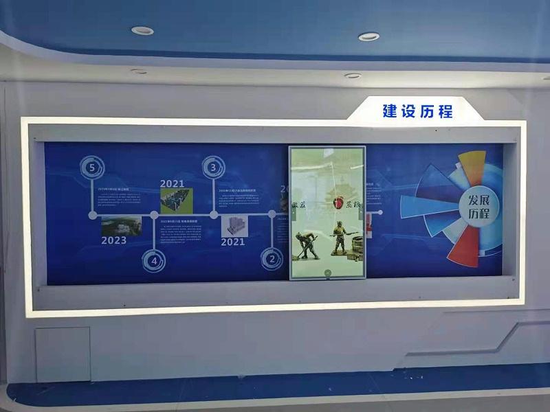 深圳妇幼医院应用滑轨屏效果展示