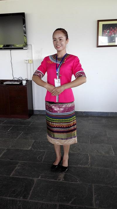 傣族工作服装
