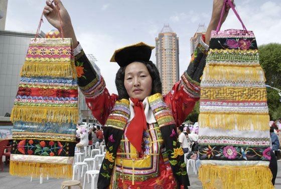 蒙古族刺绣
