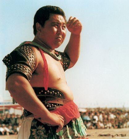 蒙古族男子