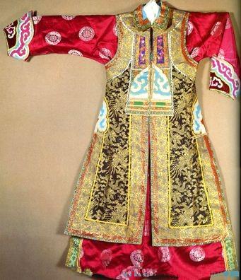 蒙古族袍服