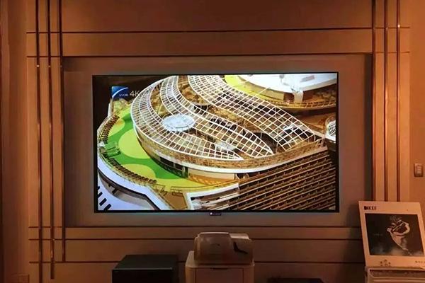 激光电视投影幕