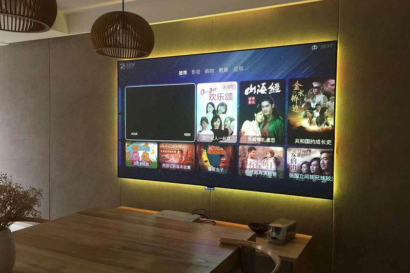 激光电视屏幕可以看电视吗