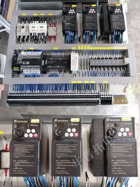 士林变频器电控板安装图