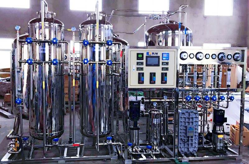 二级反渗透+EDI纯化水设备