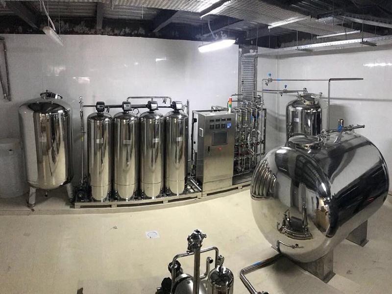 0.5T二级反渗透+EDI纯化水设备约旦