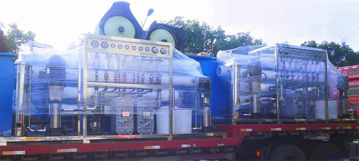 凯旭净化为兰州兰石装备提供工业水处理设备案例!