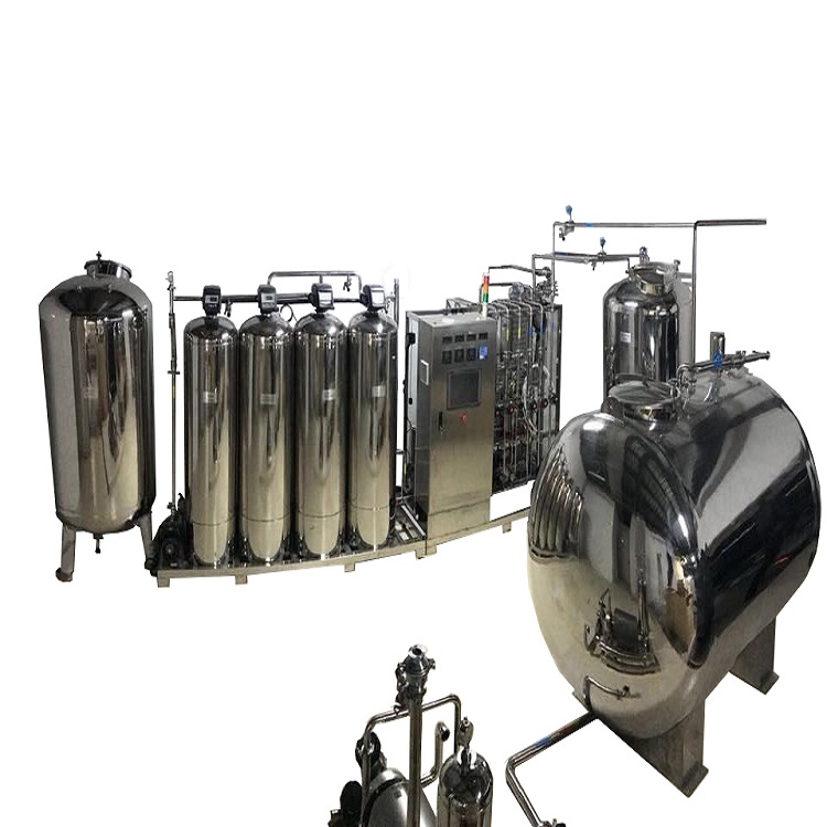 二级反渗透+EDI纯化水1